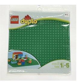 Lego Plaque verte Duplo