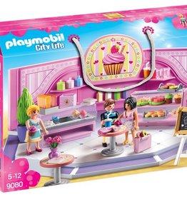Playmobil Café cupcake