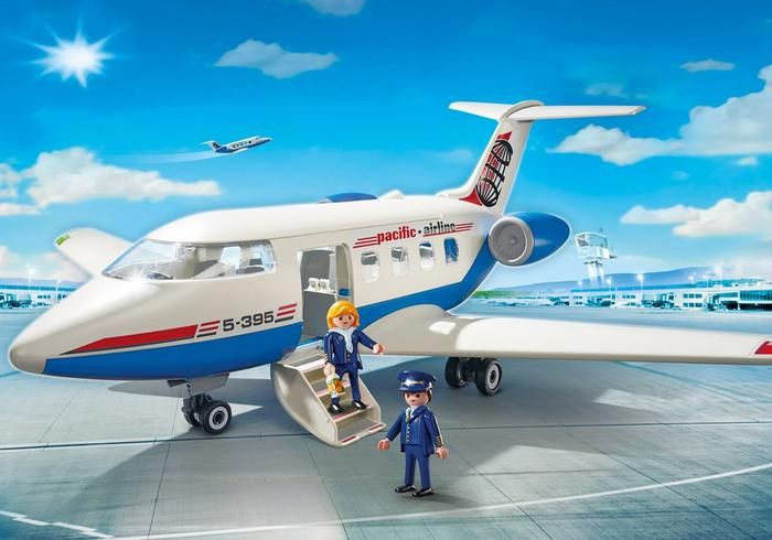 Playmobil Avion passager