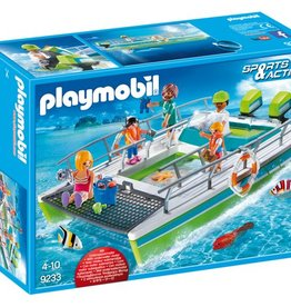 Playmobil Catamaran à  fond de verre