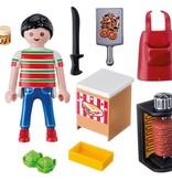 Playmobil Figurine de vendeur de Kebab