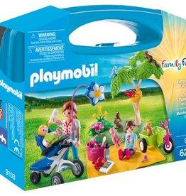 Playmobil Mallette portative pique-nique en famille