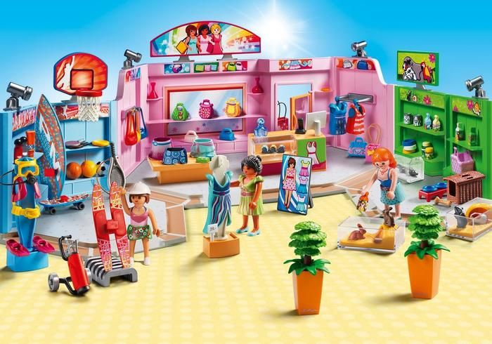 Playmobil Galerie marchande
