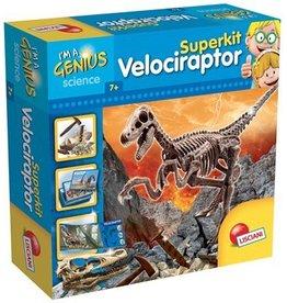 Petit génie - Super kit de paléontologie de vélociraptor