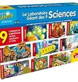 Petit génie - Le grand laboratoire des 9 sciences
