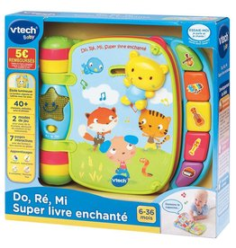 Vtech Do,Ré,Mi Super livre enchanté