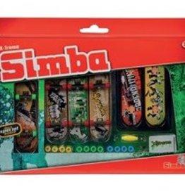 Ensemble de 6 petits skateboards à doigt