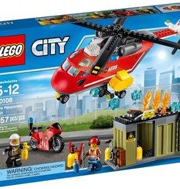 Lego LEGO City -L'unité de secours des pompiers