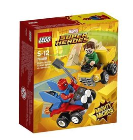 Lego LEGO MARVEL - Spiderman contre l'homme de sable