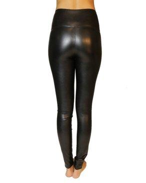 PRIV Secret Weapon High Waist Vegan Leather Legging