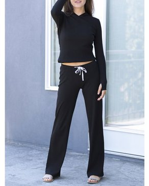PRIV Ebb & Flow Ribbed Pant