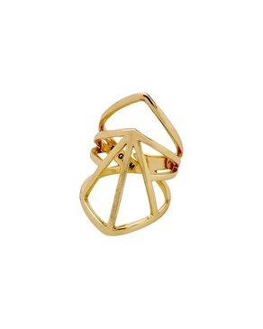 Pilgrim Pilgrim Gold Plated Ring