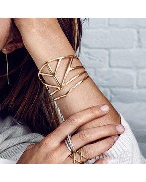 Pilgrim Bracelet Plaqué Or