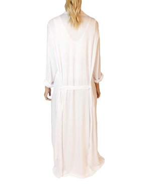 SLEEP by PRIV Robe de chambre Freefall Maxi en blanc