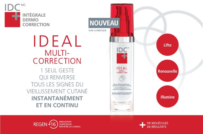 IDC Dermo IDEAL Multi-Correction – Instant Lifting Serum