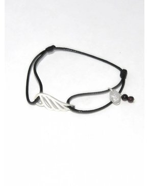 "Ciao Angel ""Merci Angel"" Adjustable Bracelet"