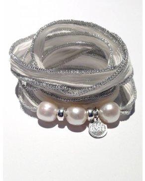 Ciao Angel 3 Pearl Bracelet