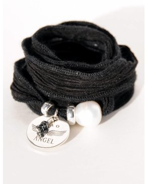"Ciao Angel ""Merci Angel"" Pearl Bracelet"