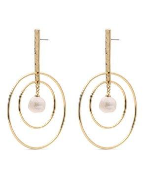 Pilgrim Pilgrim Ama Gold Earrings