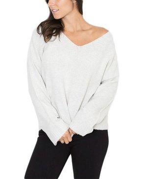Peridot Skylar V-Neck en tricot