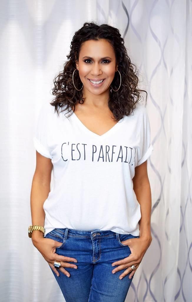 Picoum C'EST PARFAIT! - T-Shirt (Blanc)