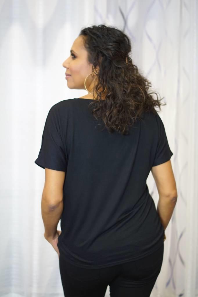 Picoum C'EST PARFAIT! - T-Shirt (Black)