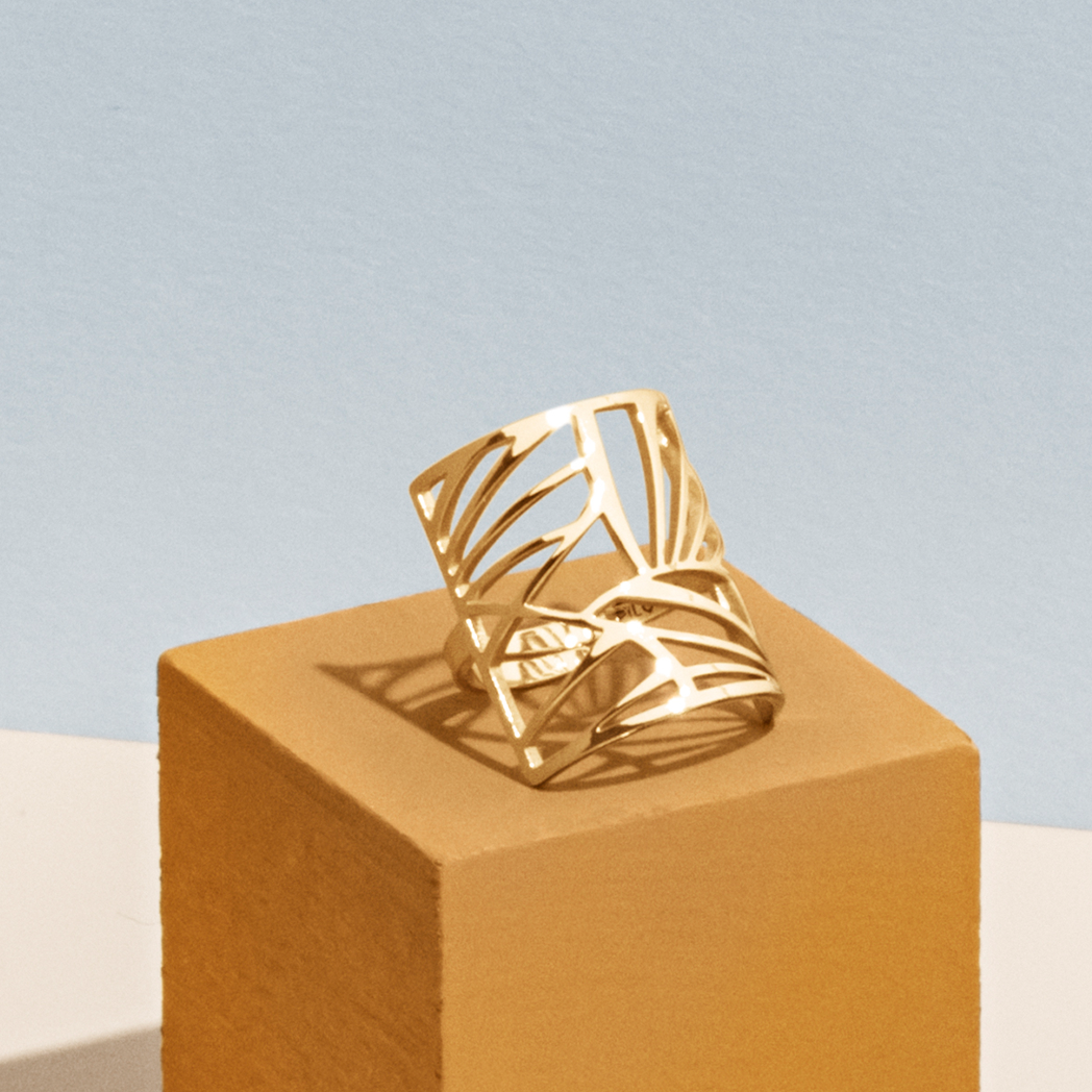 Pilgrim Pilgrim Asami Gold Ring