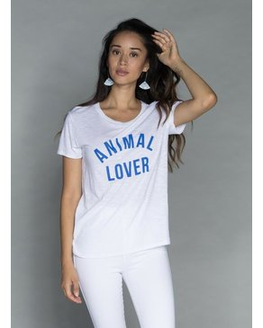 CHRLDR ANIMAL LOVER — Classic T-Shirt