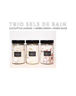 Selv Trio De Sels De Bain