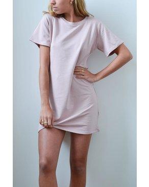 Dailystory Basic Dress Blush