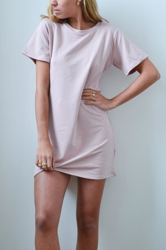 Dailystory Robe couleur Blush