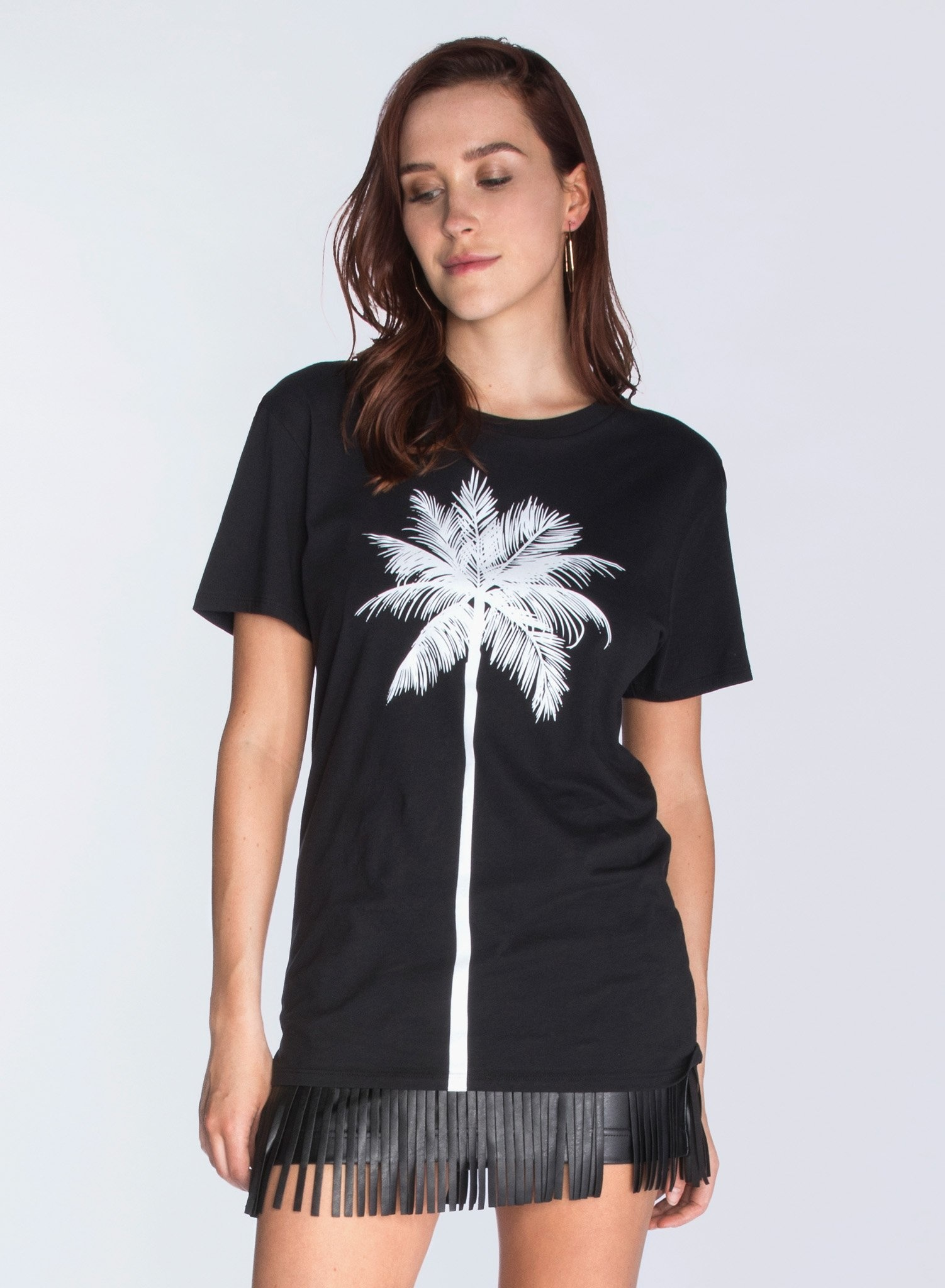 CHRLDR THE PALM TREE — Boyfriend T-Shirt