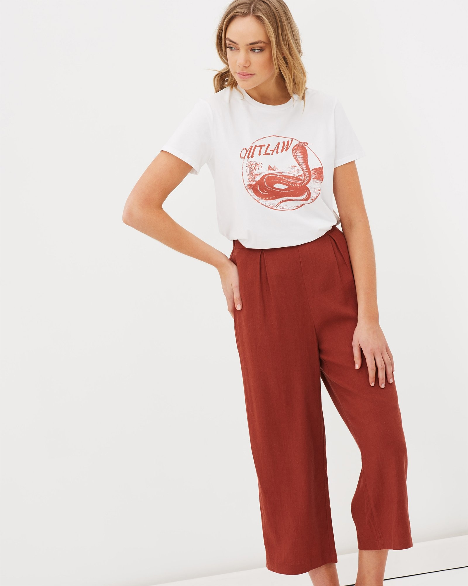 Charlie Holiday Outlaw Regular Fit Tee