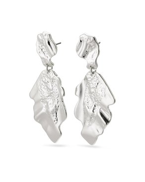 Pilgrim Pilgrim Valkyria Silver Statement Earrings