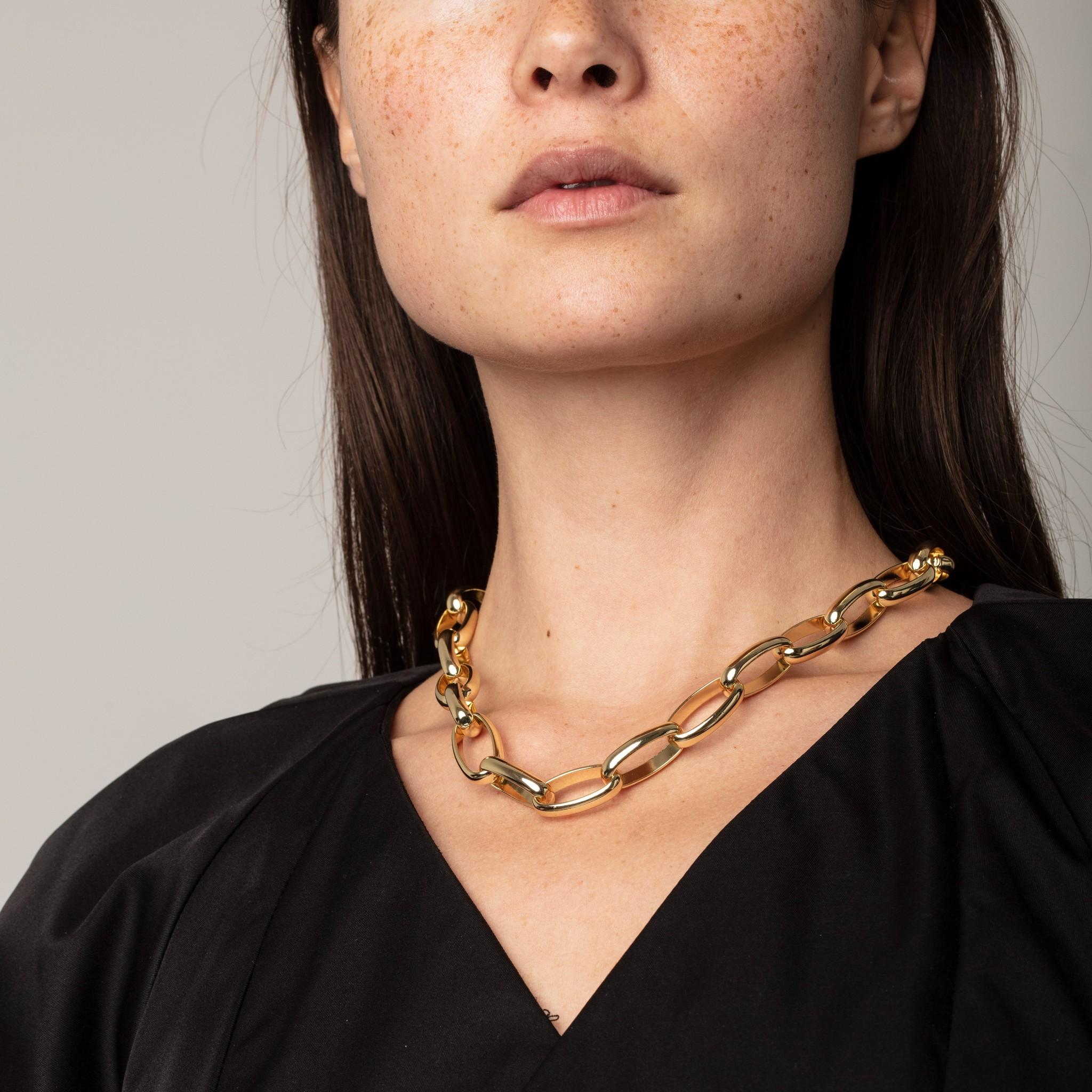 Pilgrim Pilgrim Rán Gold Chain Necklace