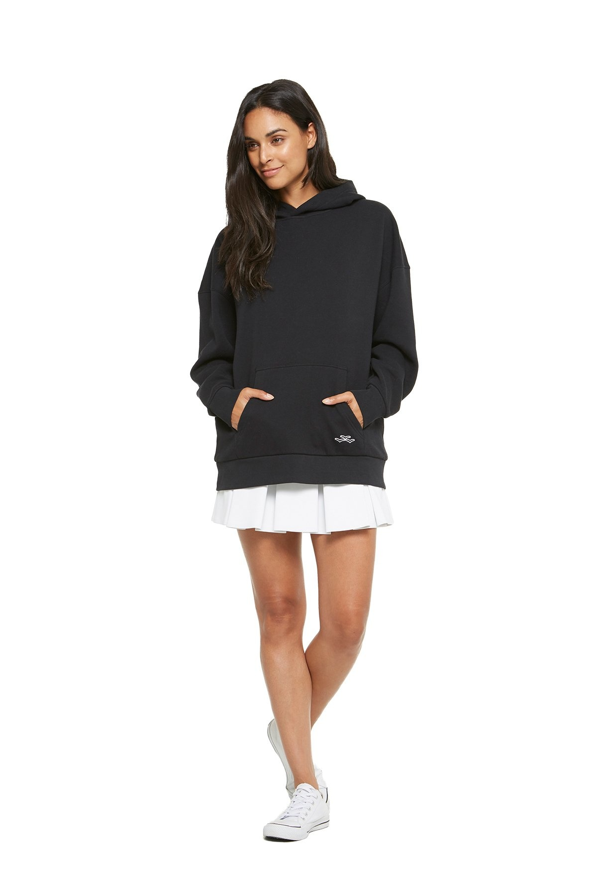 LAZYPANTS The Cooper Hoodie in Black