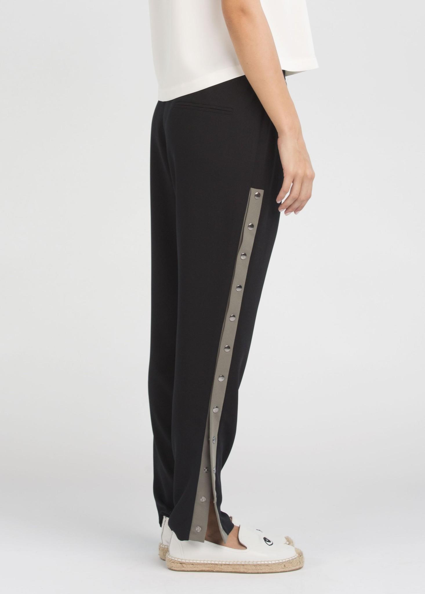 Arzu Gurbuz Penny Pants - Black/Khaki