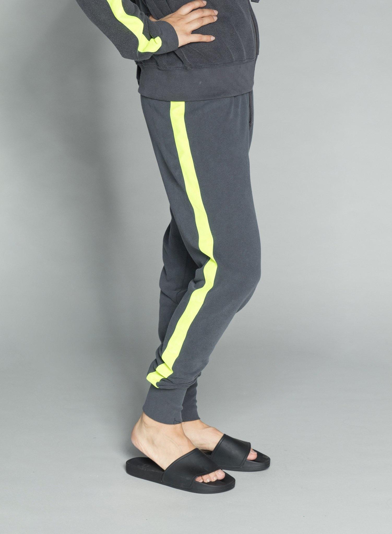 CHRLDR TUXEDO STRIPE — Sweatpants
