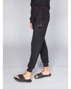 CHRLDR STUDDED SKULL STARS - pantalons