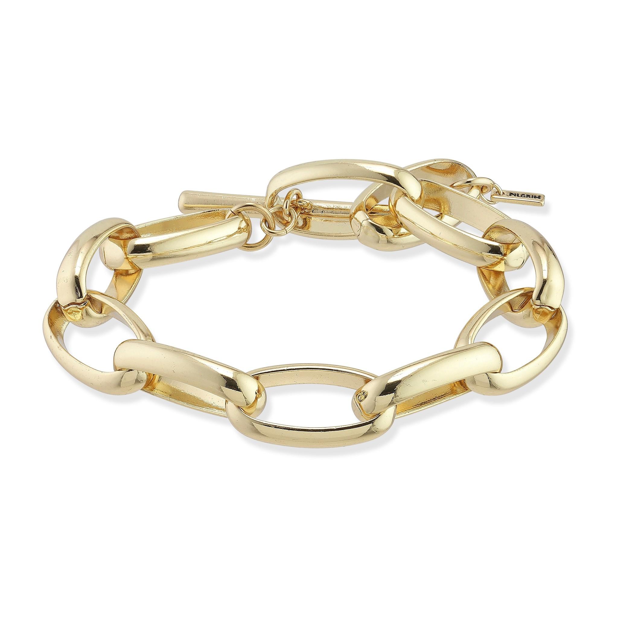 Pilgrim Pilgrim Rán Gold Chain Bracelet