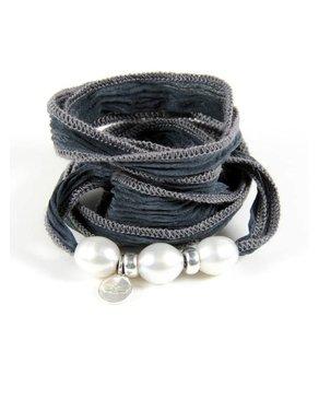 Ciao Angel Three Pearl Bracelet