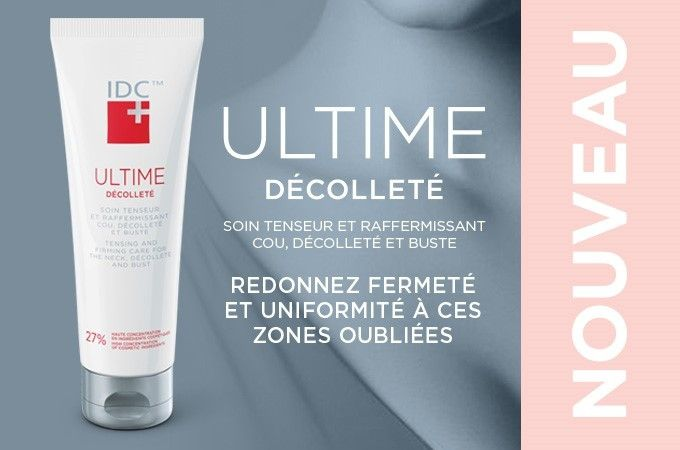 IDC Dermo Ultime Décolleté- Neck and Cleavage Firming Cream