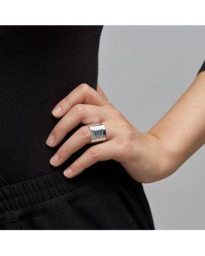 Pilgrim Pilgrim Silver Abbie Ring