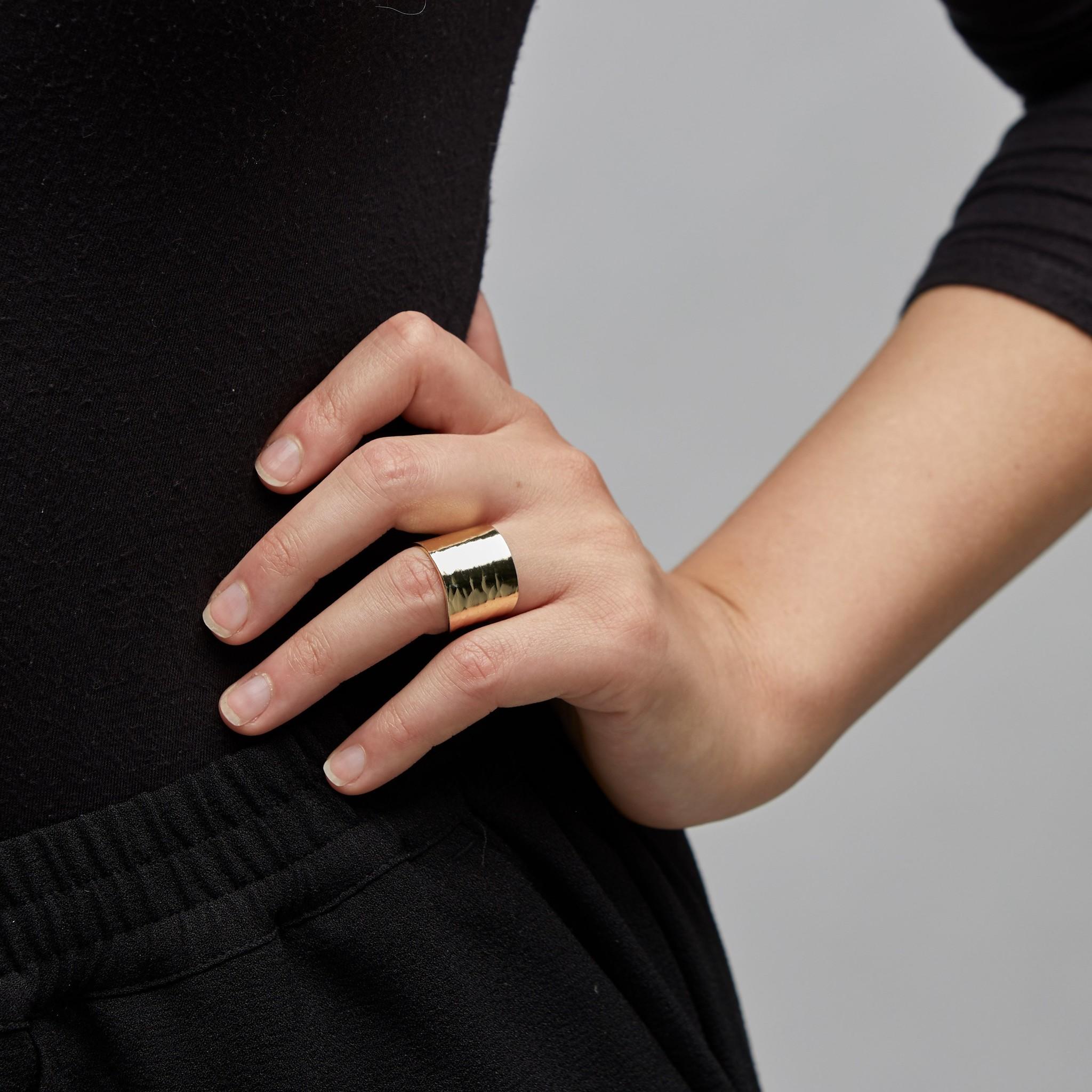 Pilgrim Pilgrim Gold Abbie Ring