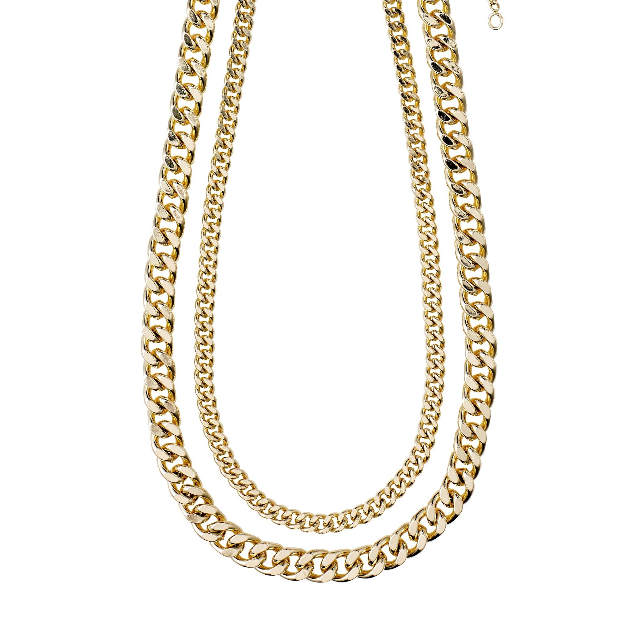 Pilgrim Pilgrim Gold 2-in-1 Necklace Set : Water Element