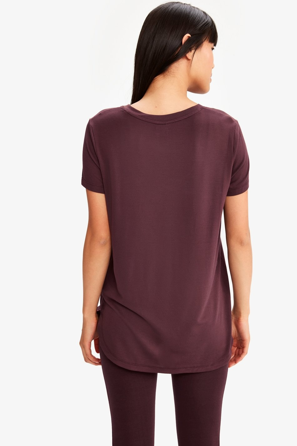Lole Agda V Neck Tee Shirt