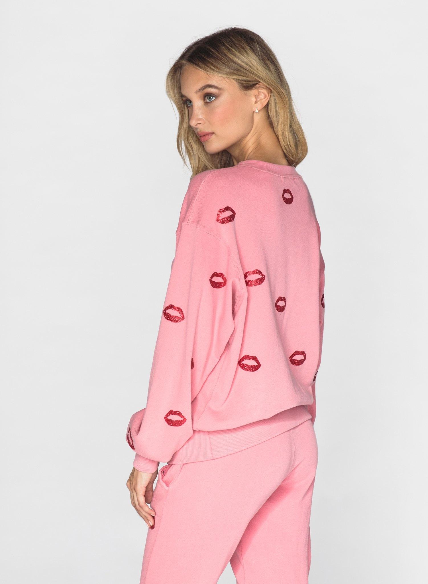 CHRLDR LÈVRES GLAMOUR -  Sweatshirt Oversized