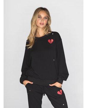 CHRLDR MENDED HEART - Oversized Crew Neck Sweatshirt