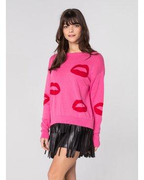 CHRLDR BIG LIPS - Dropped Shoulder Sweater