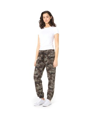 LAZYPANTS The Niki Original in Green Camo